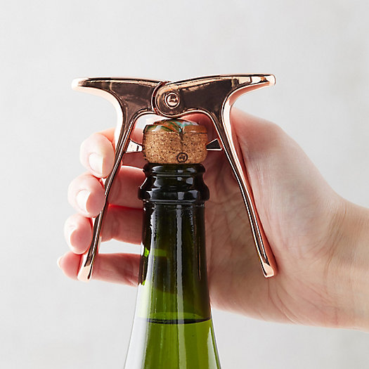 View larger image of Copper Champagne Cork Puller