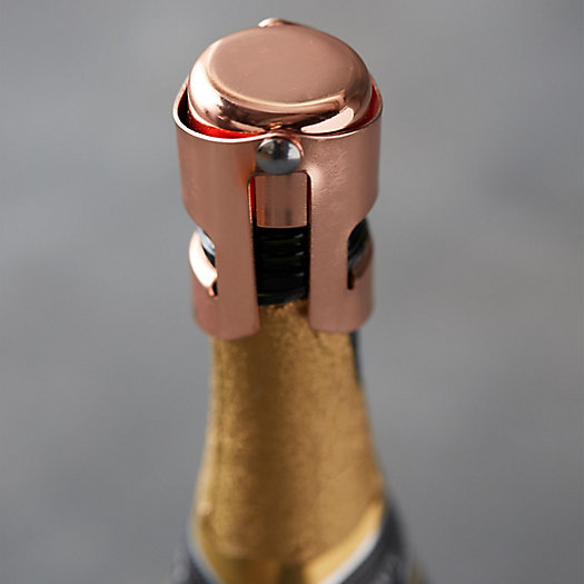 View larger image of Copper Champagne Stopper