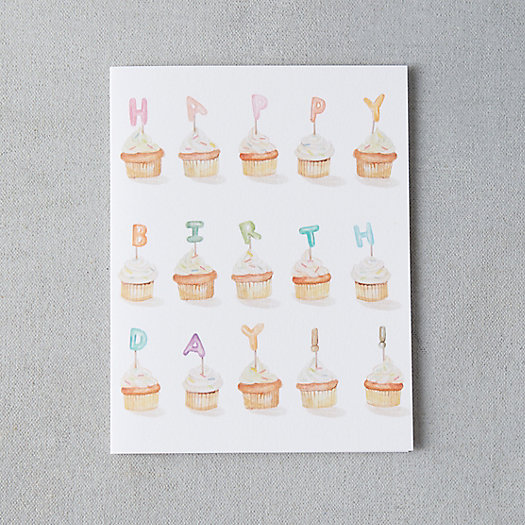 View larger image of Cupcake Collection Birthday Card