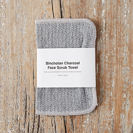 View larger image of Binchotan Charcoal Face Towel