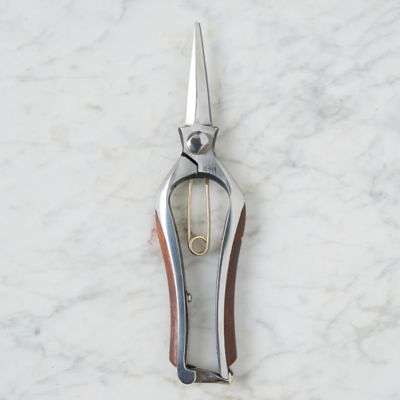 Wood Handle Japanese Steel Needle Nose Pruner
