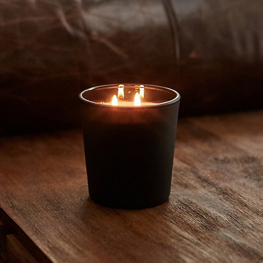 View larger image of Linnea's Lights Reserve Candle, Leather & Oud