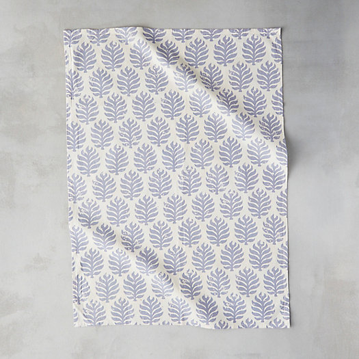 View larger image of Frond Silhouette Cotton Tea Towel