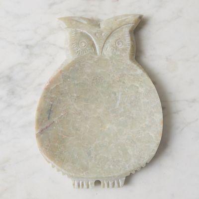 Stone Owl Soap Dish