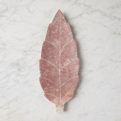 Soapstone Leaf Soap Dish
