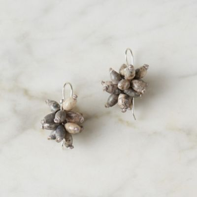 Fossil Cluster Earrings