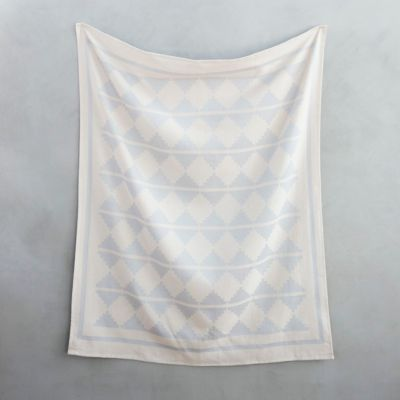 Woven Mountains Cotton Throw
