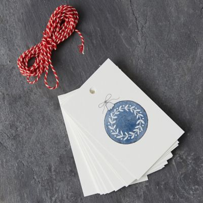 Warm Winter Wishes Gift Tags