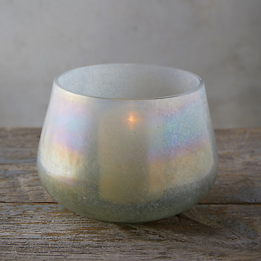 View larger image of Pearlescent Glass Votive