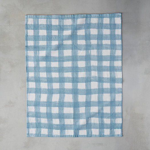 View larger image of Vintage Check Cotton Tea Towel