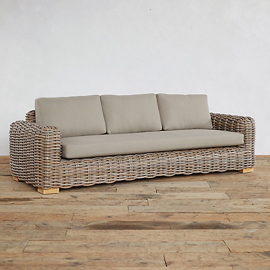 View larger image of Kubu Vine All Weather Wicker Sofa
