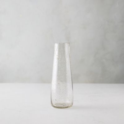 Speckled Glass Column Vase
