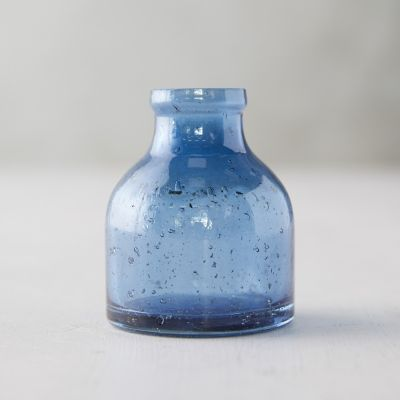 Speckled Glass Bud Vase