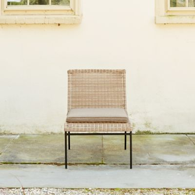 Pacific All Weather Wicker Armless Chair