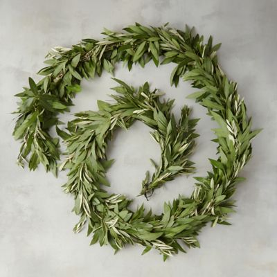 Fresh Bay Leaf & Olive Garland