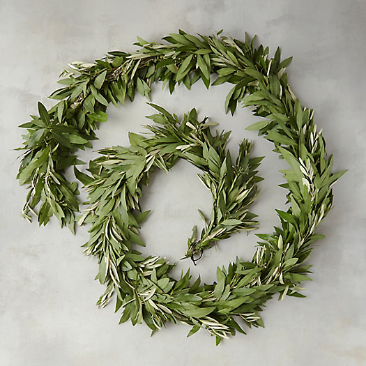 View larger image of Fresh Bay Leaf & Olive Garland