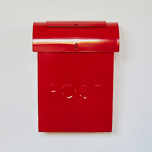 View larger image of Wall Mounted Steel Post Box
