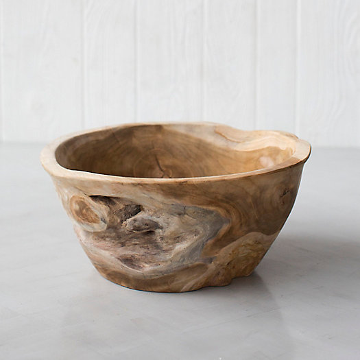 View larger image of Large Teak Root Serving Bowl