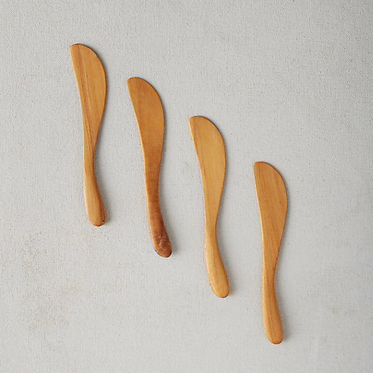 View larger image of Teak Spreaders, Set of 4