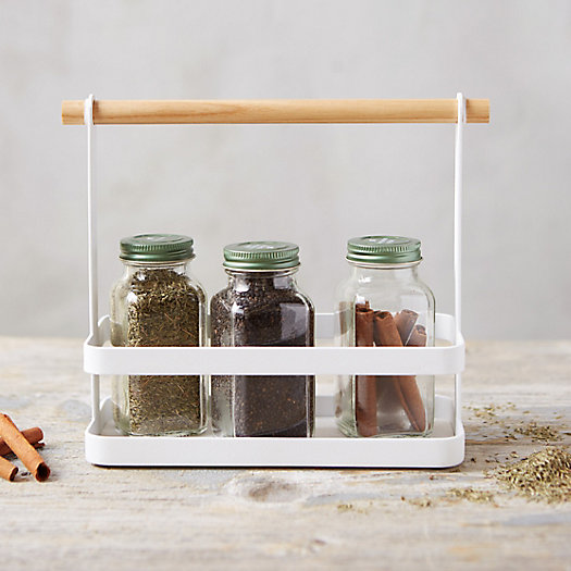 View larger image of White Steel Spice Rack