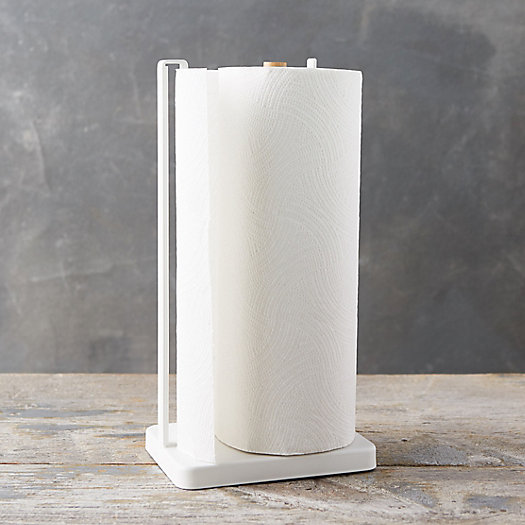 View larger image of White Steel Paper Towel Holder