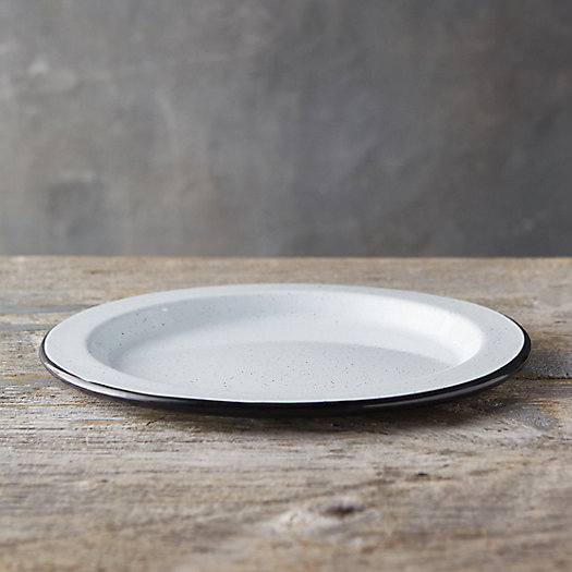 View larger image of Pastel Enamel Dinner Plate