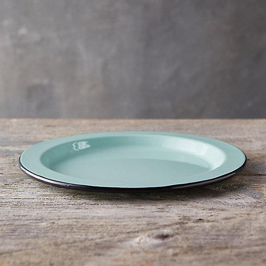 View larger image of Pastel Enamel Dinner Plate