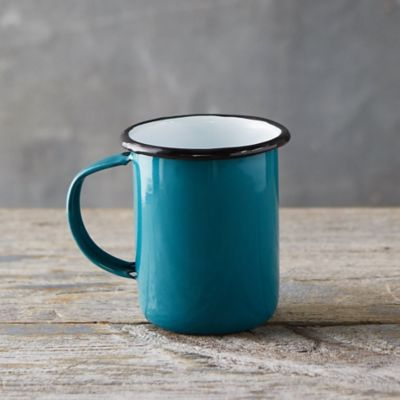 Pastel Enamel Tall Mug