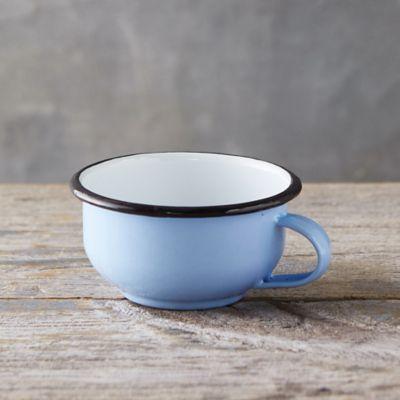 Pastel Enamel Teacup