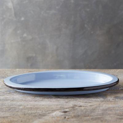 Pastel Enamel Platter