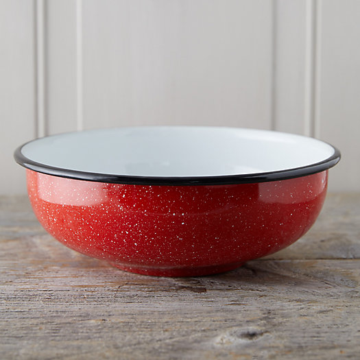View larger image of Pastel Enamel Salad Bowl