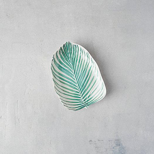 View larger image of Palm Leaf Melamine Platter