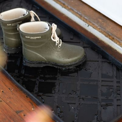Graphic Rubber Boot Tray