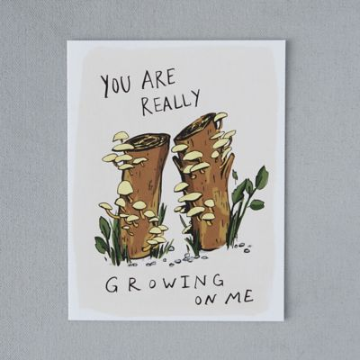 Growing on Me Card