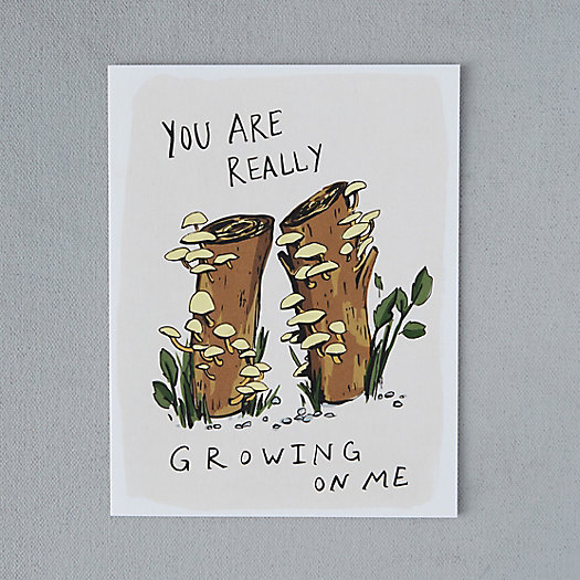 View larger image of Growing on Me Card