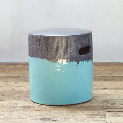 Glazed Ceramic Stool