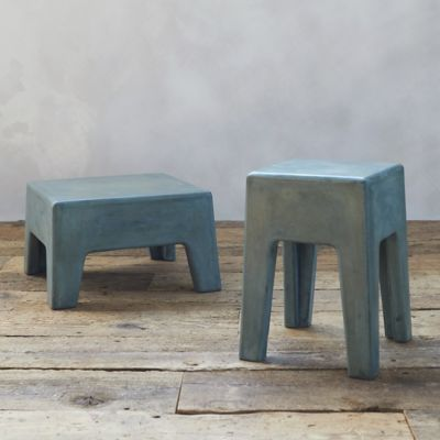 Polished Cement Stool