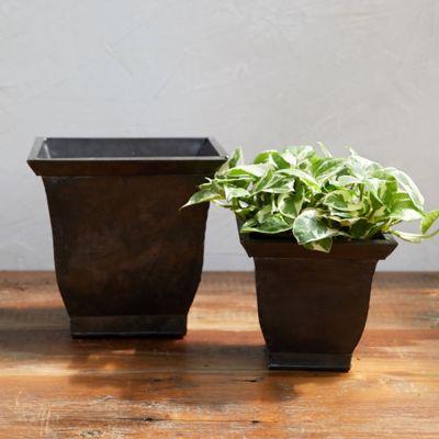 Square Urn Pot