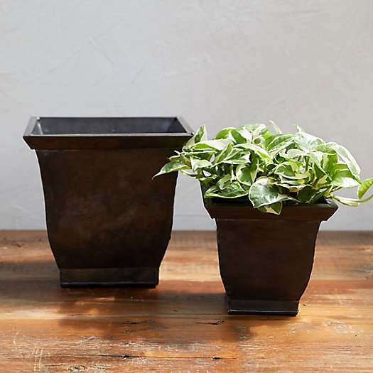 View larger image of Square Urn Pot