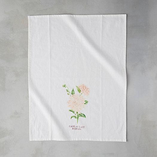 View larger image of Garden Blossoms Cotton Tea Towel