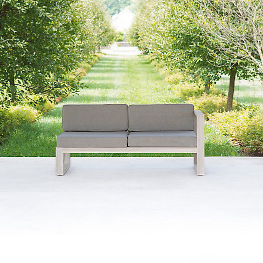 View larger image of Horizon Teak Modular Sofa, Right Arm Facing