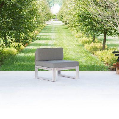 Horizon Teak Armless Chair