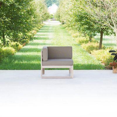 Horizon Teak Modular Corner Chair