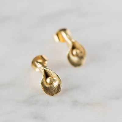 Golden Bloom Earrings