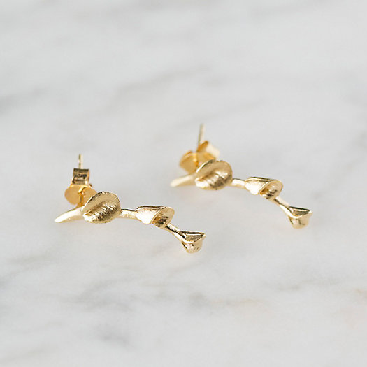 View larger image of Golden Petals Earrings