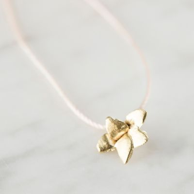 Golden Garden Pendant Necklace
