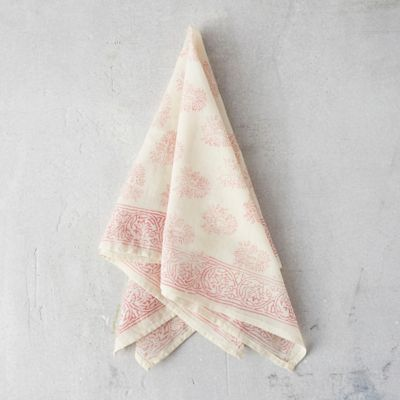 Cotton Block Print Bandana