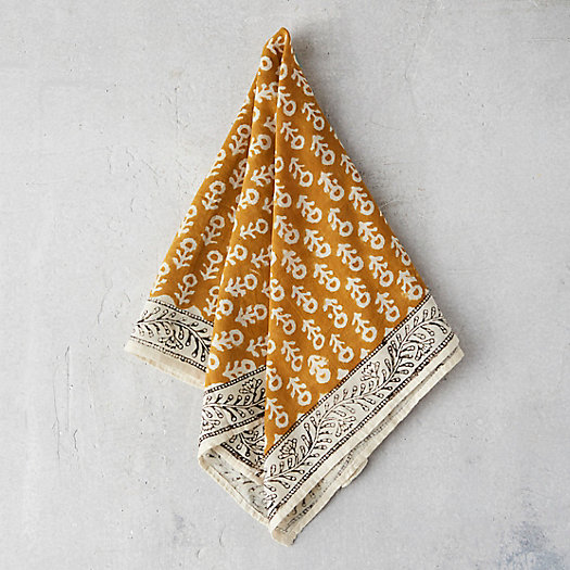 View larger image of Cotton Block Print Bandana
