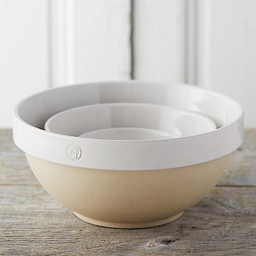 View larger image of Bourgogne Ceramic Nesting Bowls