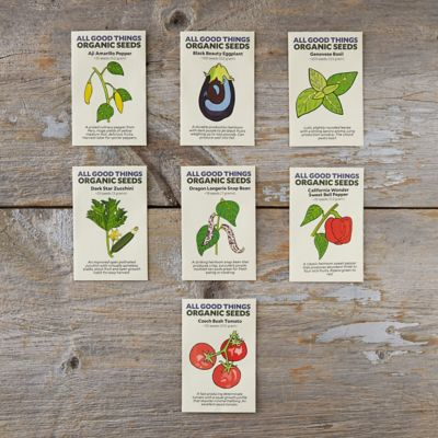 Organic Homestead Vegetable & Herb Seed Collection